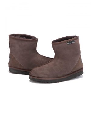 Ankle Boots Chocolate