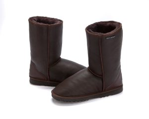 Stealth Short Boots Chocolate